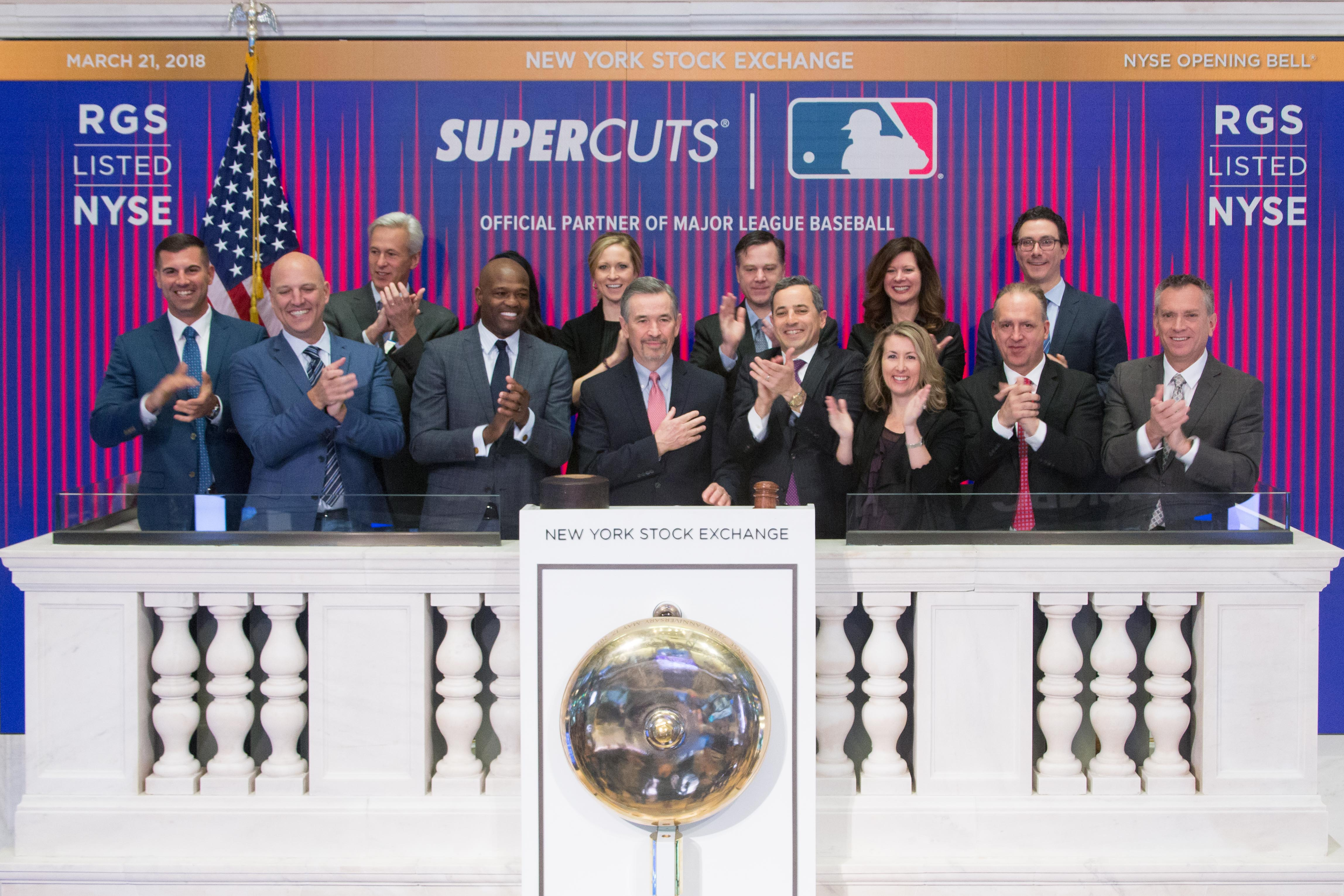 Supercuts MLB Partnership NYSE
