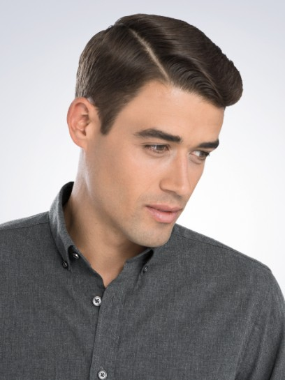 cocktail party hairstyles : Clean Cut Permanent Part