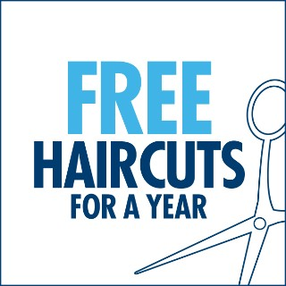 Win Free Haircuts for a Year