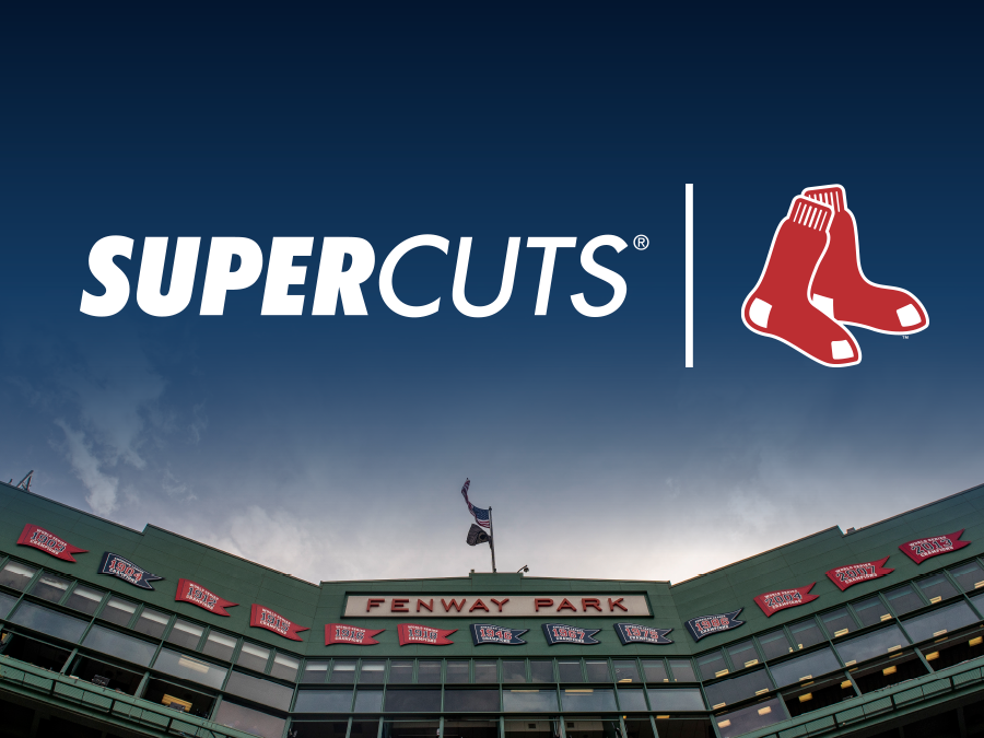 Red Sox and Supercuts logos