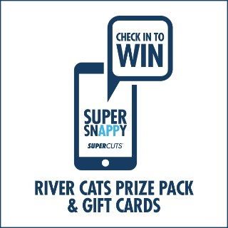 Check In to Win Contest River Cats Prize Pack & Gift Cards